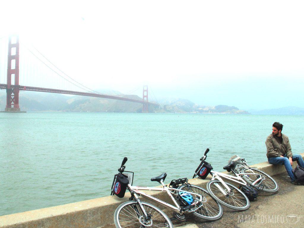 La bahía de San Francisco puede recorrerse en bicicleta