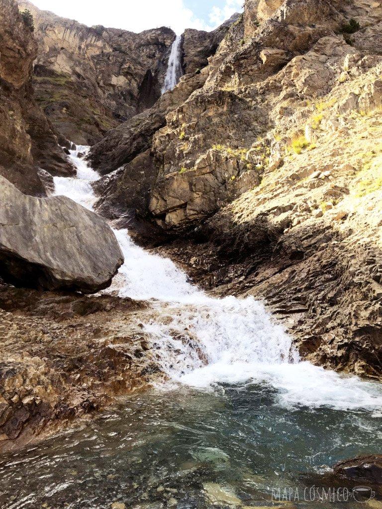 Pineta: caminata y cascadas del Cinca