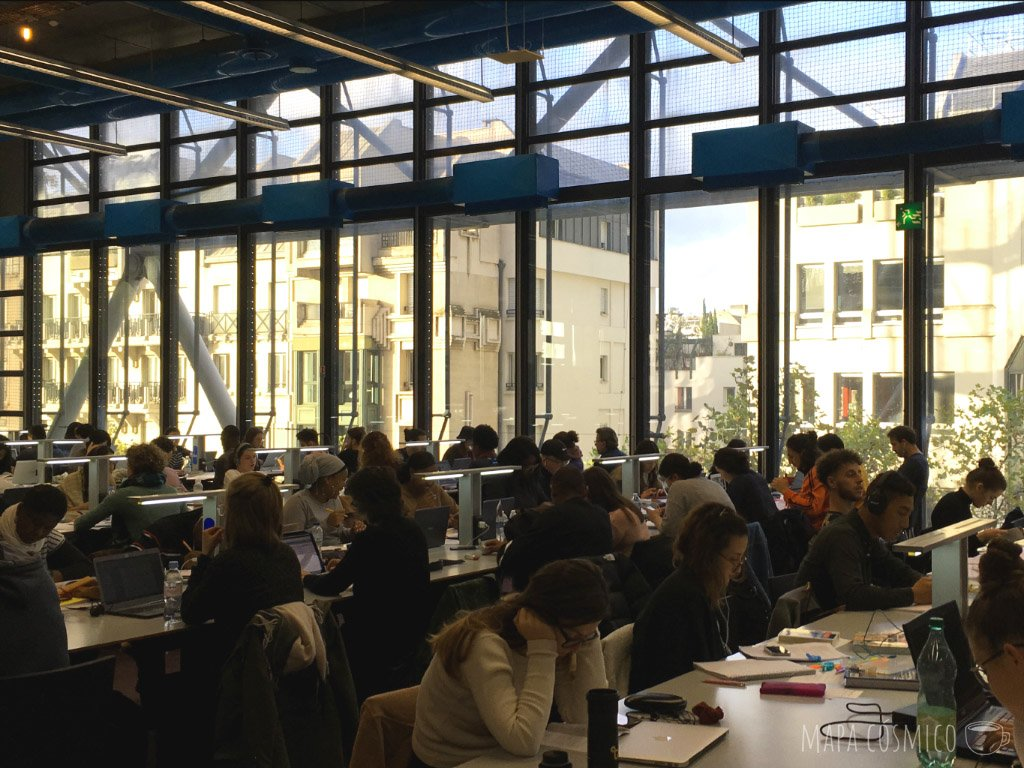Biblioteca Pompidou de París