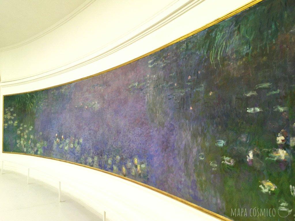 Monet en el museo, un día de lluvia en París