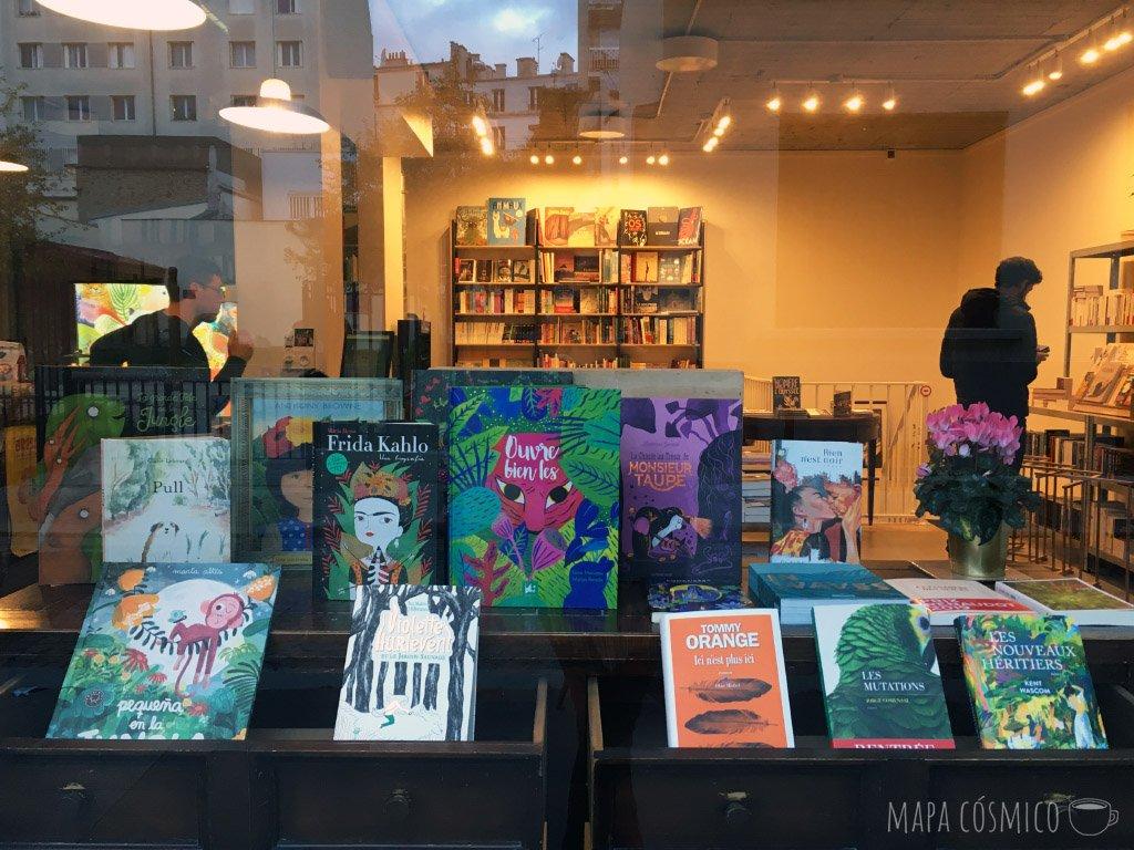 Cariño: librería y café en Paris