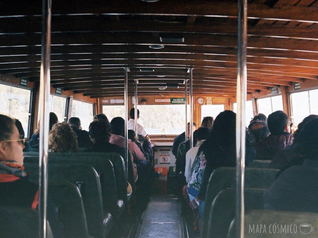 paseo en ferry a quila quina desde san martín de los andes
