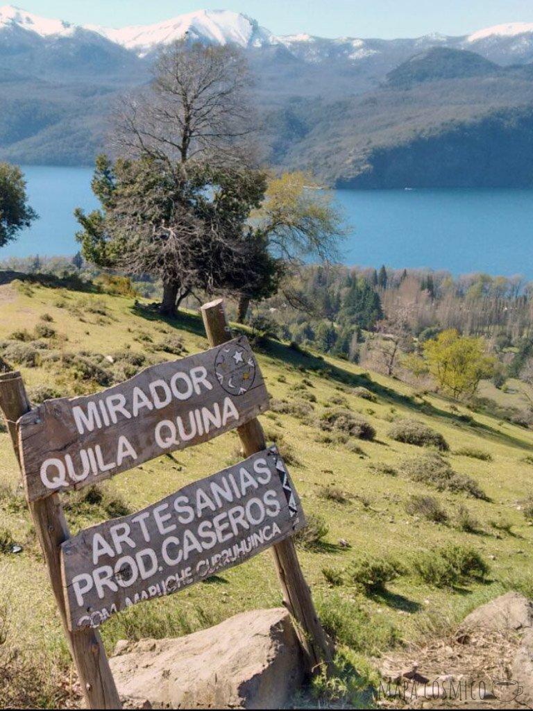 Quila Quina caminata hasta San Martín de los Andes, sin auto