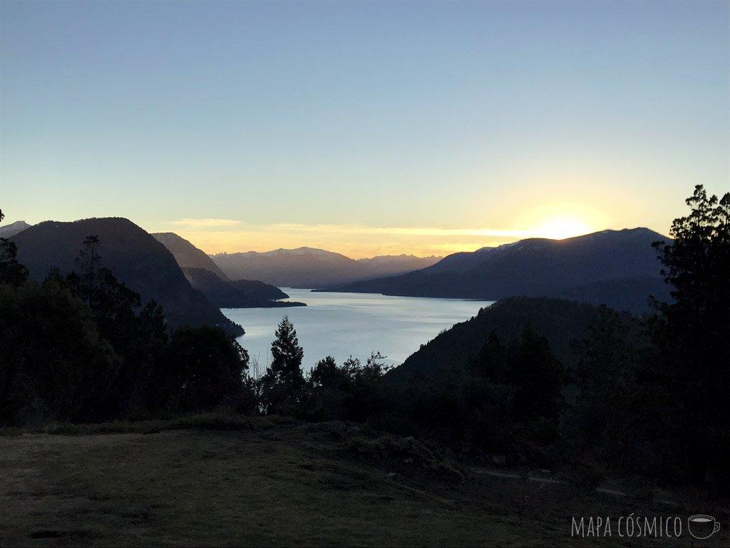 Paseo: Casa de té Arrayán, atardecer en San Martín de los Andes
