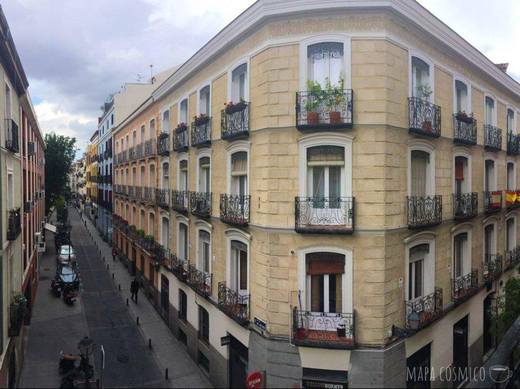 Edificio del Barrio Malasaña Madrid