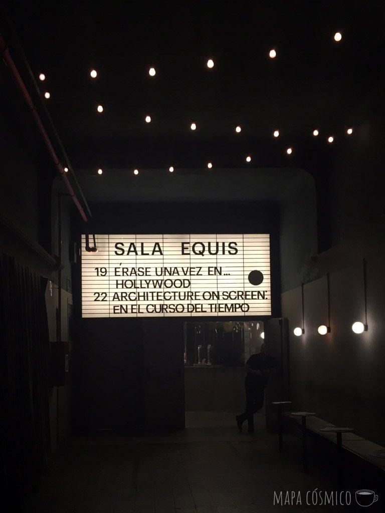 Sala Equis en Lavapies, Madrid. Cine, bar y restaurante