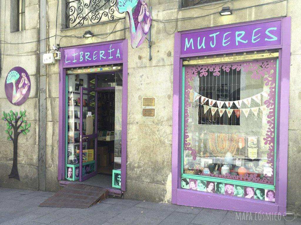Librería mujeres, feminismo. Madrid