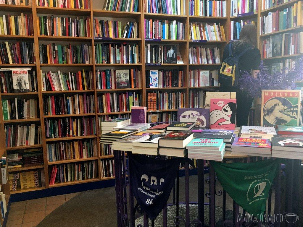 Librería mujeres, feminismo, Madrid
