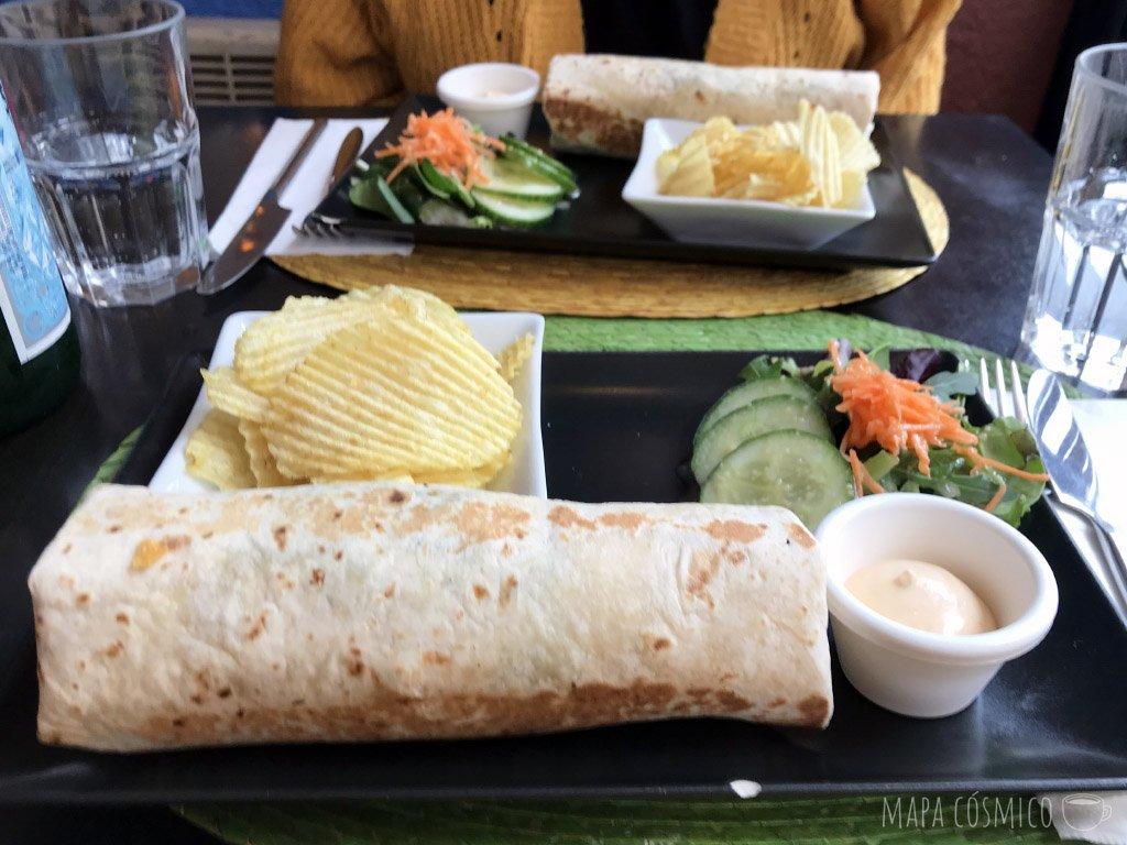 Huitzilin en París: restaurante mexicano, burrito vegetariano