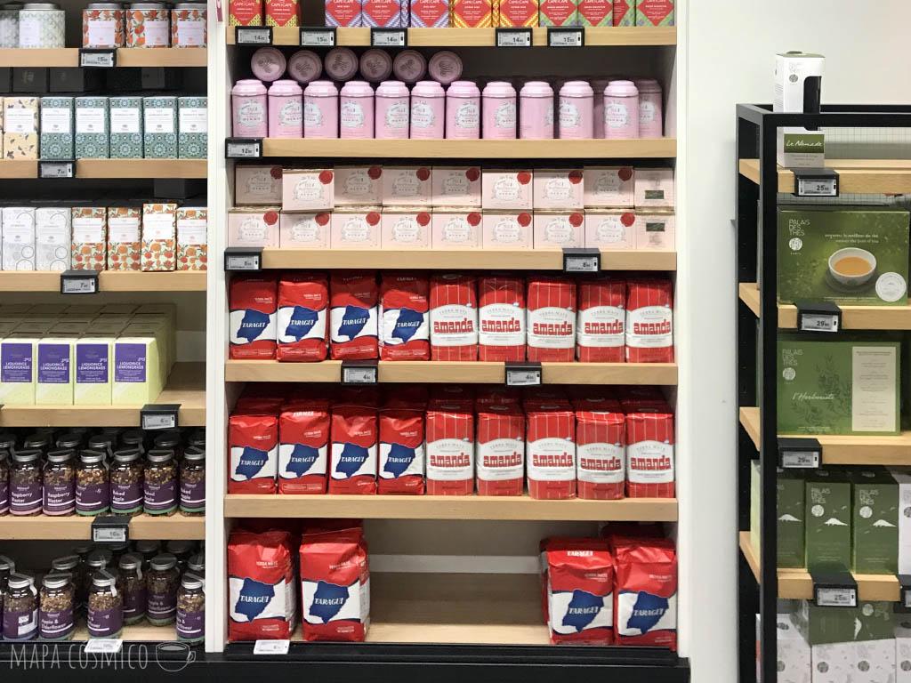 Yerba mate en Galeries Lafayette Gourmet