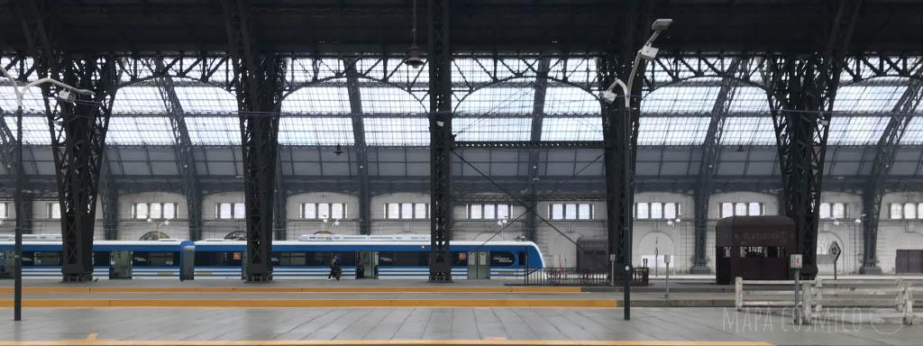 Estación de Retiro en la ciudad de Buenos Aires