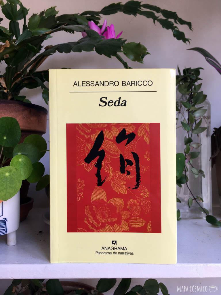 Libro Seda de Alessandro Baricco para leer en casa