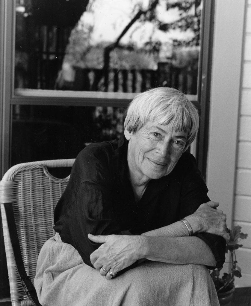 Foto de Ursula K Le Guin, autora de libros de ciencia ficción